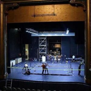 Théâtre Graslin installation du terrain