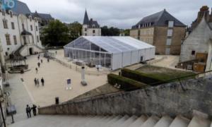 Installation terrain de squash Château des ducs de Bretagne